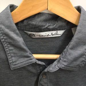Travis Mathew Shirts - Dark Grey Travis Matthew Golf Polo